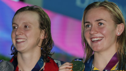Titmus' hopes of more gold boosted after Ledecky, McKeon withdraw