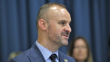 ACT Chief Minister Andrew Barr says new standing orders will slow down the passage of a private members bill to legalise cannabis.