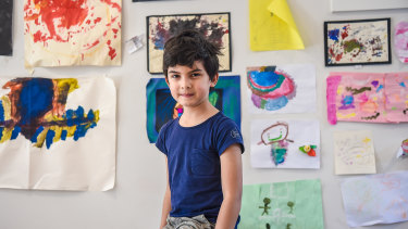 When will the coronavirus be over? Rafe, 7, from Fitzroy North, asked the question on everyone's minds.