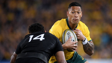 Israel Folau was always well respected by teammates, but never a captain.