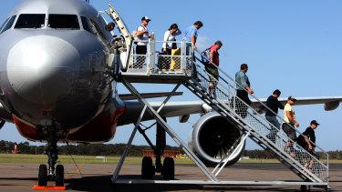 More than 95,000 people have claimed asylum after arriving by plane in the past five years.