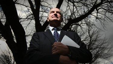 Professor Ross Garnaut authored a landmark report into climate change.