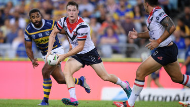 Luke Keary is trying to keep a lid on talk of an Origin berth at either No.6 or 7 as he deputises for Cooper Cronk with distinction.
