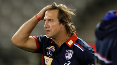 Luke Beveridge says the AFL should have consulted more widely before changing the interpretation of holding the ball.