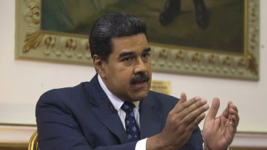 Learning from Bashar al-Assad? Embattled Venezuelan President Nicolas Maduro.