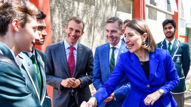 Gladys Berejiklian has announced an extra $6.4 billion in funding for all schools over the next 10 years.