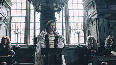 Australian Tony McNamara earned an Oscar nomination for his screenplay The Favourite (pictured).