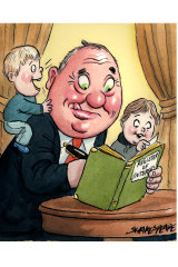 Barnaby Joyce updates the parliamentary  register of interests.