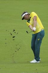 Green grass golf: Australia's Cameron Smith.