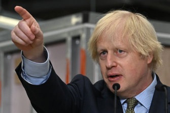 Boris Johnson is toughening his rhetoric on telecommunications giant Huawei after China introduced new laws for Hong Kong.