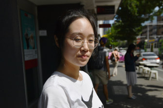 Melbourne University student Ying Zhang is worried about coronavirus and will wear masks to lectures.