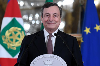 Super Mario: Mario Draghi, Italy's Prime Minister-designate, has a big job ahead.