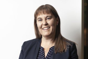 """Bendigo and Adelaide Bank chief executive Marnie Baker: """"We think we've got the ingredients right."""""""