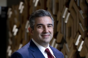 Lend Lease's new chief executive Tony Lombardo is shaking up the company structure.