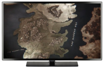 Game of Thrones: the intricate 3D map points to the action in each episode.
