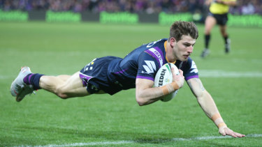 Just form: Storm coach Craig Bellamy says there is nothing sinister behind the non-selection of Curtis Scott.