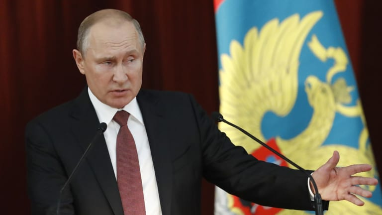 Russian President Vladimir Putin has said he wanted Donald Trump to win the election.
