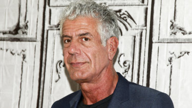 Bourdain had risen the culinary ranks in New York before becoming a television personality.