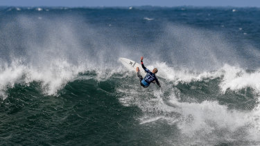 John John Florence, of Hawaii, during the third round.