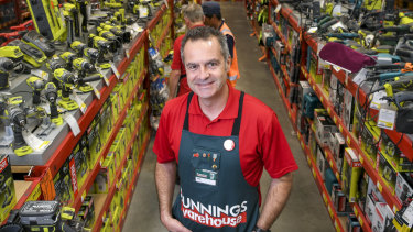 Bunnings managing director Michael Schneider.