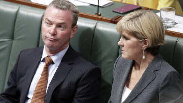 Coalition seeks advice on whether Pyne and Bishop breaching ministerial standards