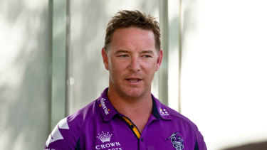 Adam O'Brien has been an assistant coach at both the Roosters and Storm.