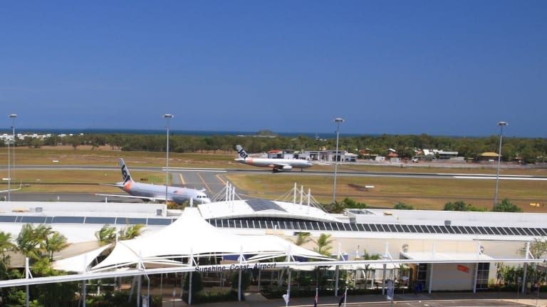 Sunshine Coast Airport.