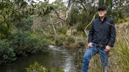'The river is dying before our eyes': Campaigners fight to save the Moorabool