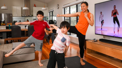 The benefits of exercising as a family in lockdown