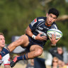 No experience? No worries as Brumbies beat Rebels in Super Rugby trial