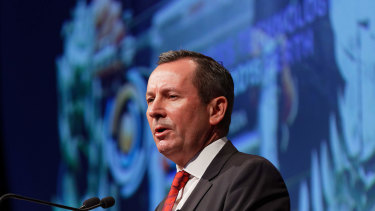 Premier Mark McGowan says it's time to talk up the WA economy.