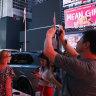New York blackouts send Times Square screens blank