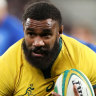 Koroibete re-signs with Wallabies, Rebels until end of 2021