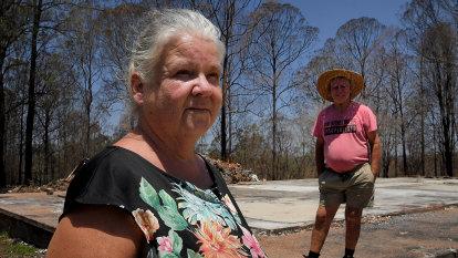 Amid the ruins, bushfire-affected families sense hope