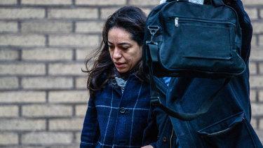 Fabiana Abdel-Malek was sentenced to three years for insider trading.