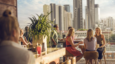 Eleven Rooftop Bar is one of the city's most popular.