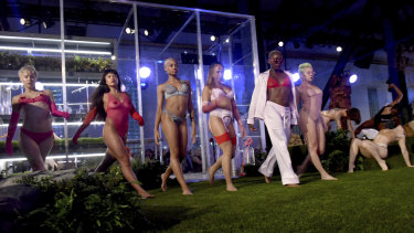 Models at the Savage x Fenty show, at the conclusion of New York Fashion Week.