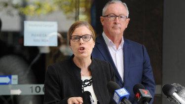 NSW Minister for Health Brad Hazzard and Chief Health Officer Kerry Chant defended their handling of the case.