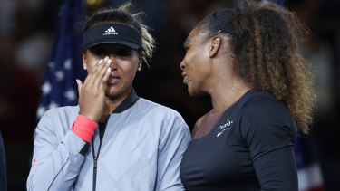 Naomi Osaka has revealed what Serena Williams said to her after she won the US Open final.