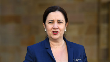 Queensland Premier Annastacia Palaszczuk has outlined the roadmap to reopening.