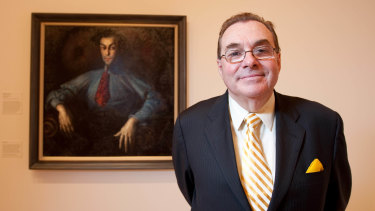 Rodney Menzies, one of Australia's most significant art figures.