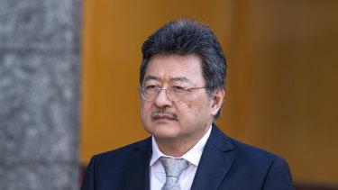 TPG Telecom boss David Teoh.