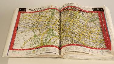 Street Directory, 2005 by Rima Zabaneh.