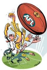 AFL clubs are now the domain of corporate Australia.