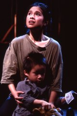 Lea Salonga in Miss Saigon in 1989. ''Coming from the perspective of being an actual mother, there's a whole difference to how I interpret the song,'' she says now.