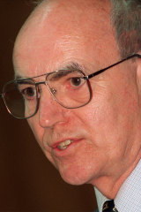 Professor Richard Mulgan, pictured in 2000.
