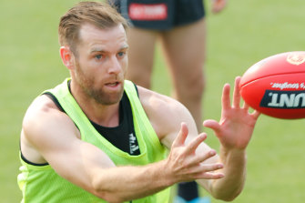 Carlton co-captain Sam Docherty will return from two consecutive knee reconstructions in a practice match on Thursday.
