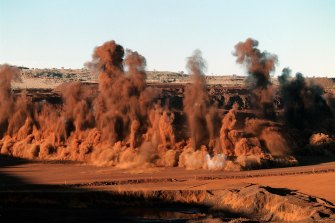 Incitec Pivot's explosive products are widely used in the mining industry.