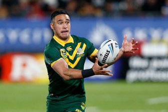 Former Kangaroo Valentine Holmes is ready to start the second act of his rugby league career with North Queensland.