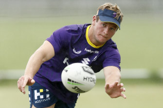 Harry Grant is vying with Brandon Smith for the hooking role should Cameron Smith not return.